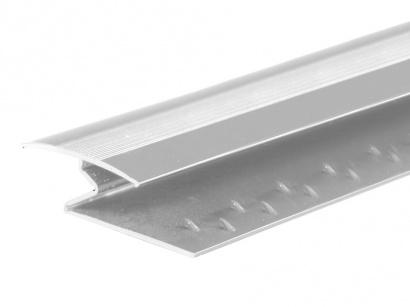 Spojovací kobercový profil 35 mm Stříbrný E01