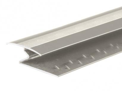 Spojovací kobercový profil 35 mm Inox E07