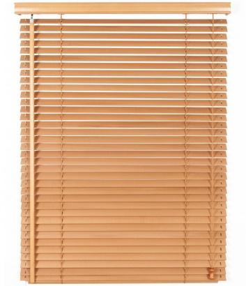 Dřevěná žaluzie na míru Classic Plus I 25 Golden Oak Mat 509