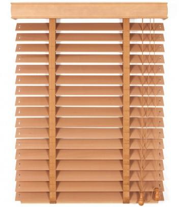 Dřevěná žaluzie na míru Classic Plus I 50 Golden Oak Mat 5509