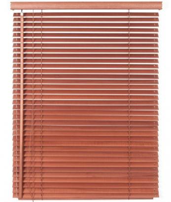 Dřevěná žaluzie na míru Classic 50 Rose Wood 5703