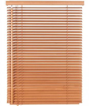 Dřevěná žaluzie na míru Classic 50 Golden Oak Dark 5303
