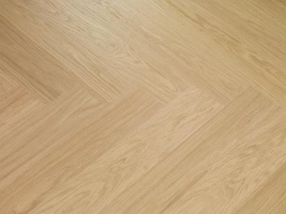 Dýhovaná podlaha Par-Ky Twist Ivory Oak Premium levý