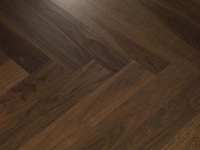 Dýhovaná podlaha Par-Ky Twist Smoked Walnut levý