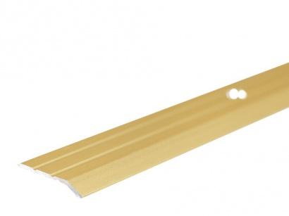 Ukončovací lišta šroubovací Zlatá E00