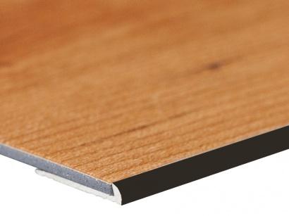 Ukončovací lišta pro vinyl a pvc Bronz E03