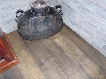 Třívrstvá podlaha Esco Karel IV Dark Grey 15 x 190