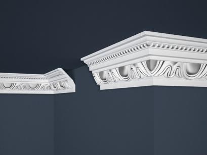 Stropní polystyrenová lišta Marbet Exclusive B24 Silver