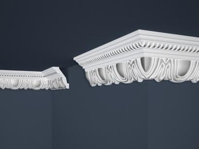 Stropní polystyrenová lišta Marbet Exclusive B34 Silver