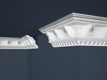 Stropní polystyrenová lišta Marbet Exclusive B22 Silver