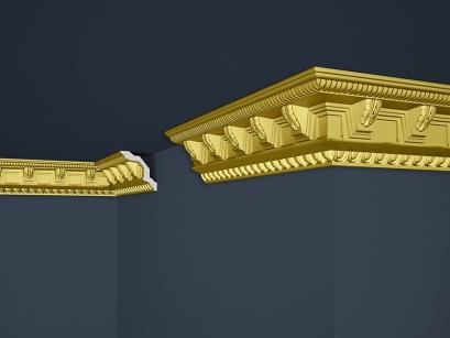 Stropní polystyrenová lišta Marbet Exclusive B23 Super Gold