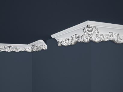 Stropní polystyrenová lišta Marbet Exclusive B35 Silver