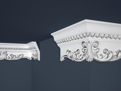 Stropní polystyrenová lišta Marbet Exclusive B36 Silver
