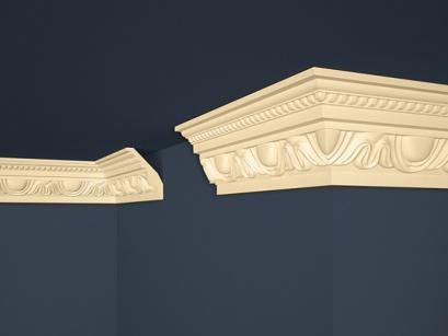 Stropní polystyrenová lišta Marbet Exclusive B24 Beige