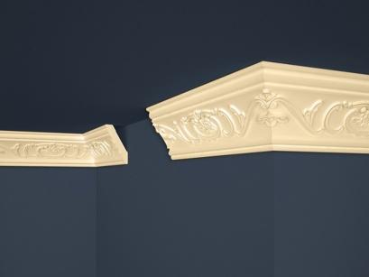 Stropní polystyrenová lišta Marbet Exclusive B26 Beige