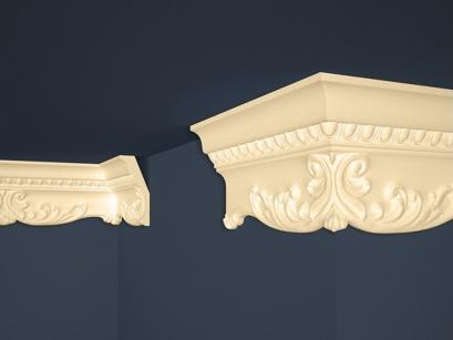 Stropní polystyrenová lišta Marbet Exclusive B36 Beige