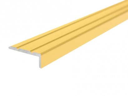 Schodová lišta samolepící Profilteam Zlatá E00 25 x 10 x 900