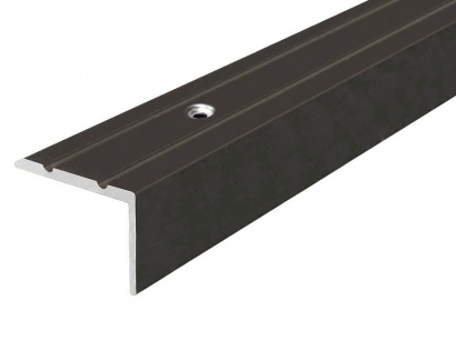 Schodová lišta šroubovací Bronz E03