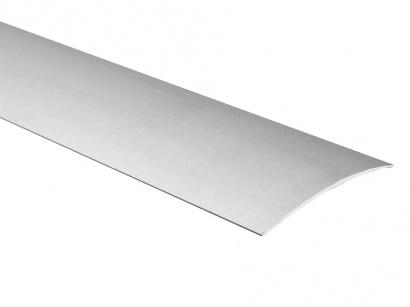 Přechodová lišta samolepící oblá Profilteam Stříbrná E01