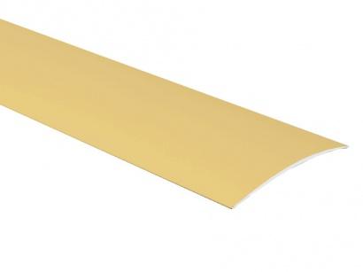 Přechodová lišta samolepící oblá Profilteam Zlatá E00
