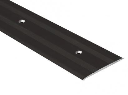 Přechodová lišta šroubovací plochá Bronz E03