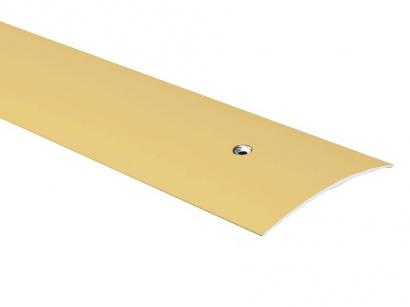Přechodová lišta šroubovací oblá Zlatá E00