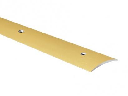 Přechodová lišta šroubovací oblá Profilteam Zlatá 60 x 2700