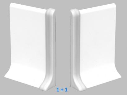 Ukončení 90/6P Profilpas Stříbrné pár
