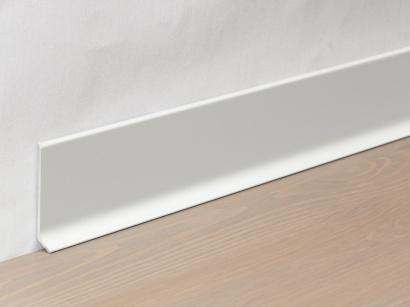 Hliníková podlahová lišta 90/8 SF Stříbrná 80 mm