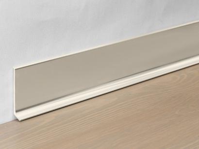 Hliníková podlahová lišta 90/4 TSF Titan leštěný 40 mm