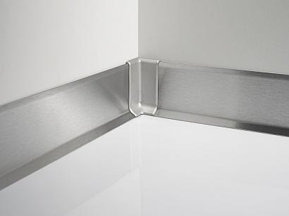 Podlahová lišta 790/8 SF Nerez broušená 80 mm