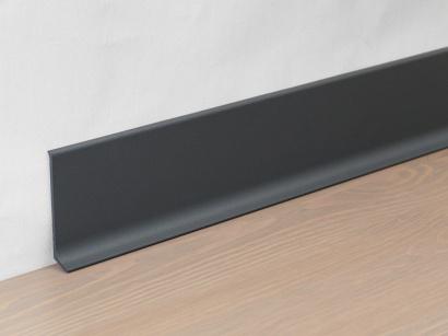 Hliníková podlahová lišta 90/6 SF Antracit šedý 60 mm