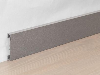 Hliníková podlahová lišta 89/6 Grigio antico 60 mm