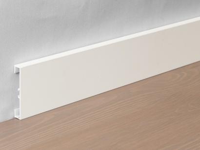 Hliníková podlahová lišta 89/6 Bílá matná 60 mm