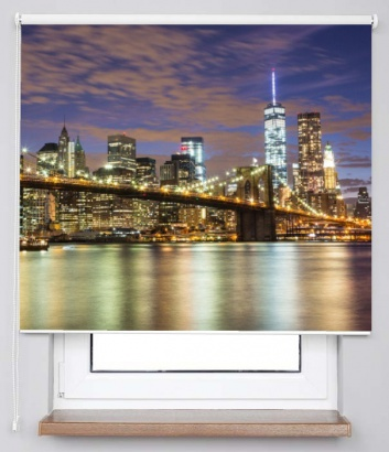 Roleta Brooklyn bridge 70432328 Classic transparent 24