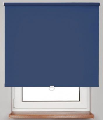 Pružinová zatemňující roleta Modrá 10369 Dimout 24 Smartroll