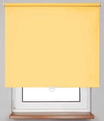 Pružinová zatemňující roleta Žlutá 10371 Dimout 24 Smartroll