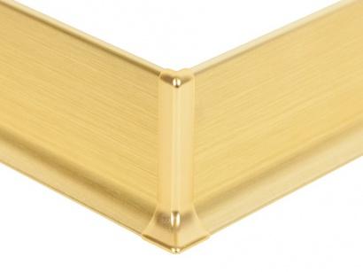 Vnější roh hliník 90/8ME Profilpas Zlatý broušený