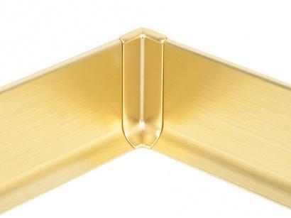 Vnitřní roh hliník 90/8MI Profilpas Zlatý broušený