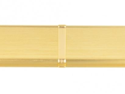 Spojka hliník 90/8MG Profilpas Zlatá broušená