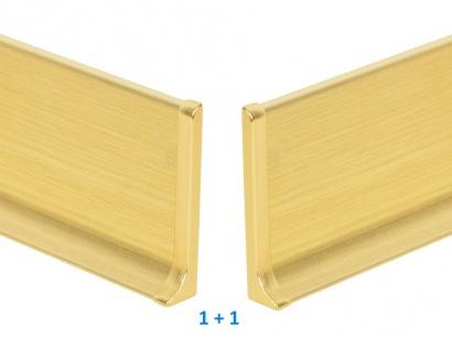 Ukončení hliník 90/8MP Profilpas Zlaté broušené pár