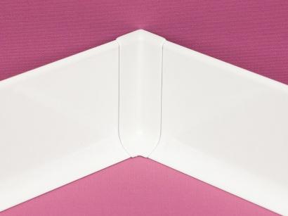 Vnitřní roh hliník 90/6MI Profilpas Bílý lesklý