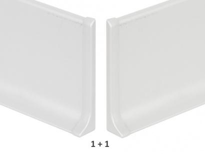 Ukončení hliník 90/6MP Profilpas Stříbrné pár