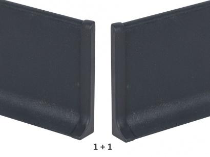 Ukončení hliník 90/6MP Profilpas Antracit šedý pár