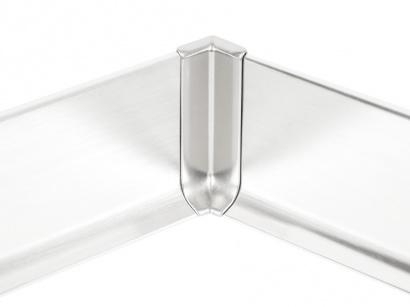 Vnitřní hliník roh 90/5MI Profilpas Stříbrný broušený