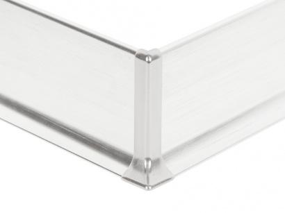 Vnější roh hliník 90/8ME Profilpas Stříbrný broušený