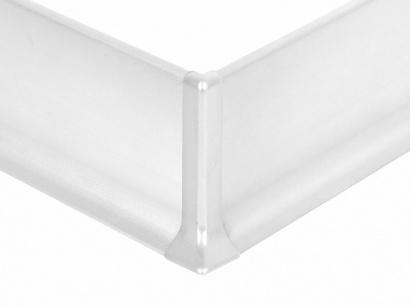 Vnější roh hliník 90/8ME Profilpas Stříbrný