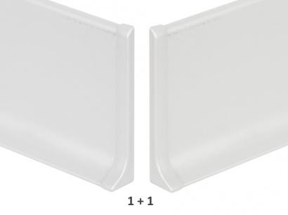 Ukončení hliník 90/8MP Profilpas Stříbrné pár