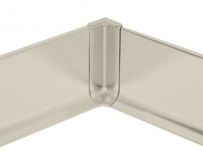 Vnitřní roh hliník 90/8MI Profilpas Titan leštěný