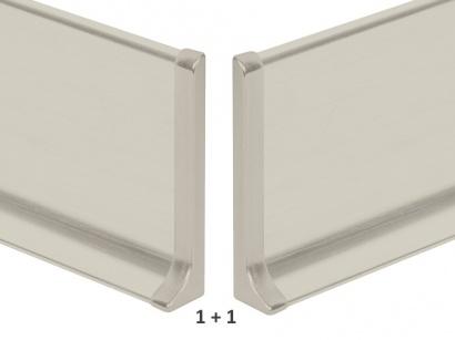 Ukončení hliník 90/8MP Profilpas Titan leštěný pár
